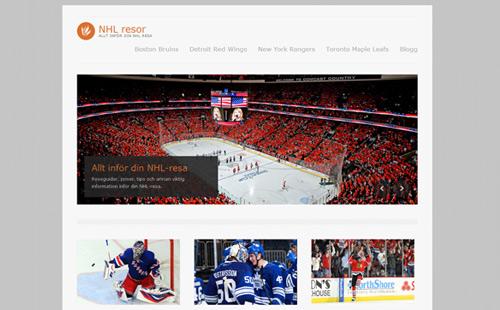 NHL-resor och biljetter