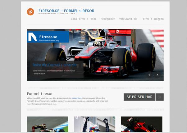 Formel 1 resor